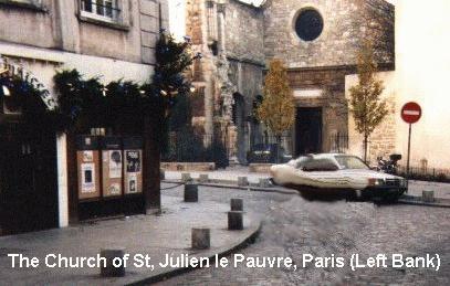 [Image of St. Julien Le Pauvre (26684 bytes)]