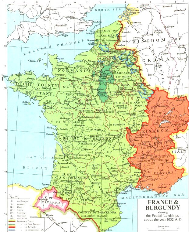 Map Of France 900 Ad.Historical Maps Overview