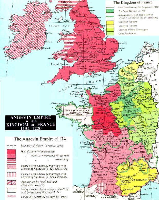 europe 1099 fourth crusade the angevin empire c