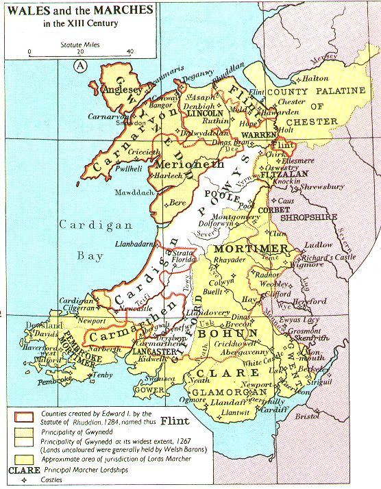 Wales in the 13th Century,