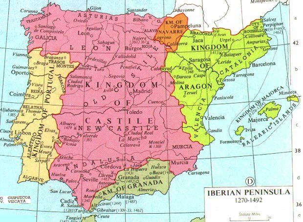 Historical Map Web Sites PerryCastañeda Map Collection UT - Spain historical map