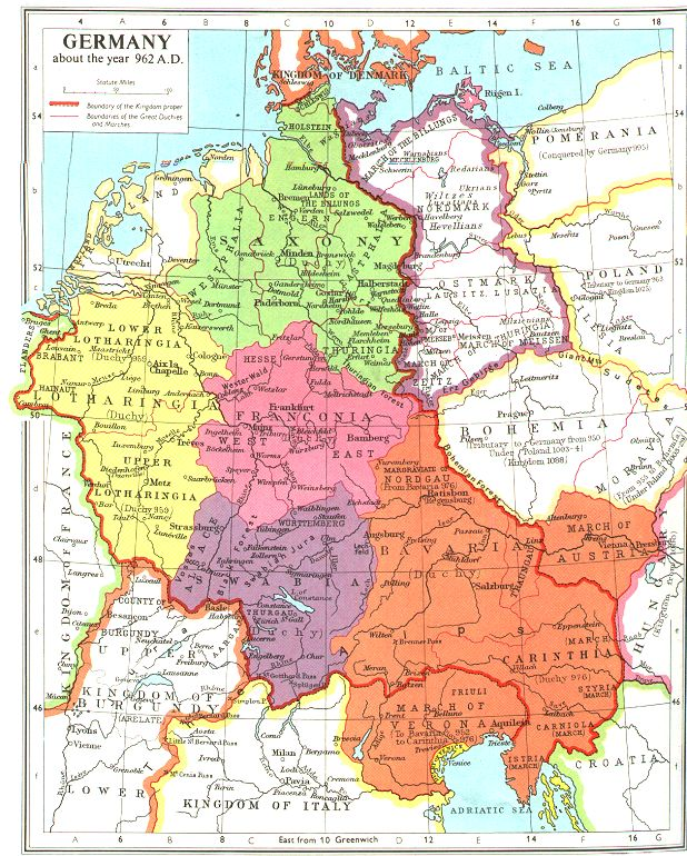 WHKMLA Historical Atlas Bavaria Page - Germany map 1980