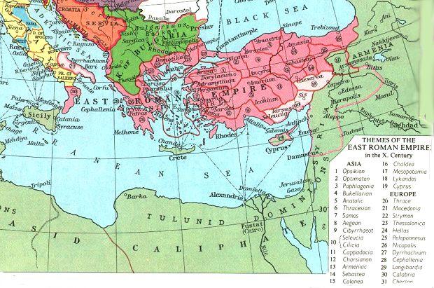 Internet History Sourcebooks - Ancient rome map byzantium